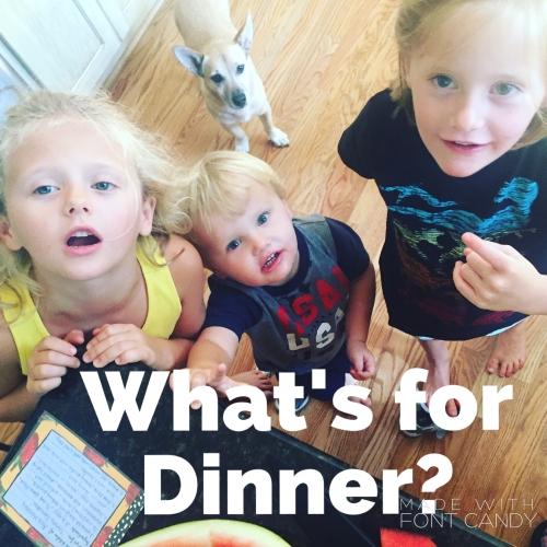 family dinner help